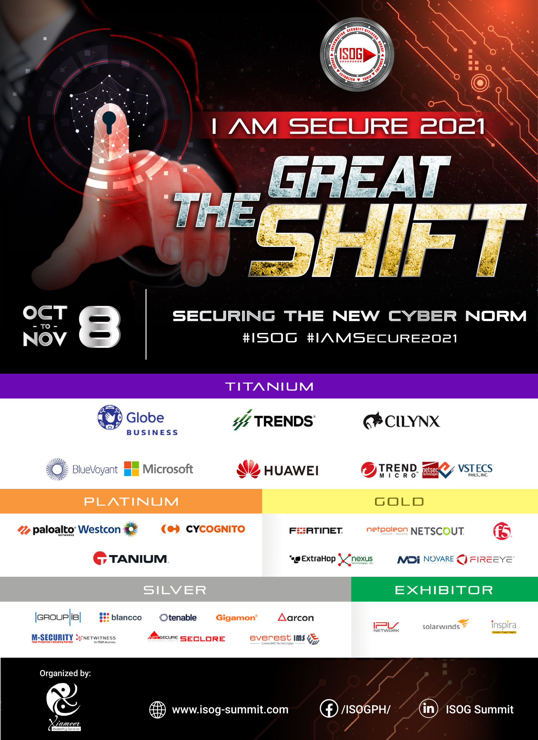 Information Security Officers Group (ISOG) to hold month-long virtual interactive cybersecurity campaign in October