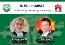DLSU and HUAWEI announce recipients of scholarship for 2021